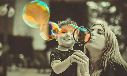 4 Activities to Enjoy with Your Family During Shelter at Home blowing bubbles - 4 Activities to Enjoy with Your Family During Shelter at Home